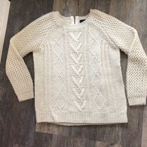 Cynthia Rowley | Cream Cable Knit Sweater